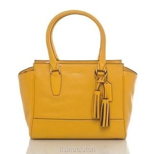 Coach Legacy Leather Candace Carryall